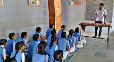 Kaushalam Foundation's CMRC during induction session in Government School