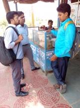 Meeting with Kalwara village youth