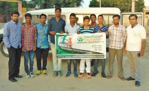 Kaushalam Foundation's Gramodhyami Initiative- Organized exposure visit for trainees