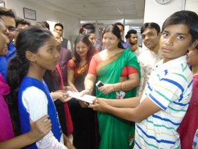 Kaushalam Foundation celebrates Diwali with beneficiaries