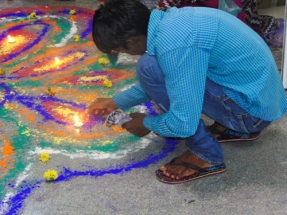Kaushalam Foundation celebrates Diwali with beneficiaries