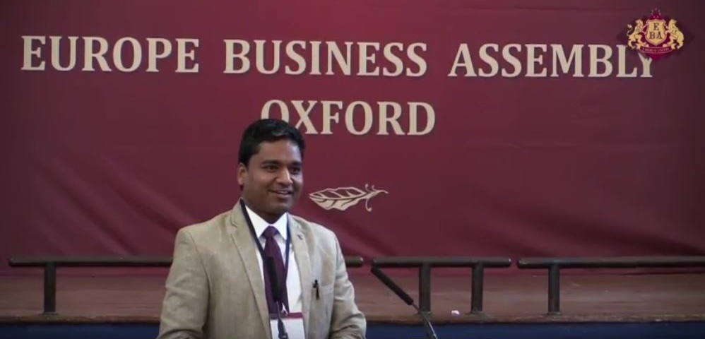 Kunal Jain key note at oxford